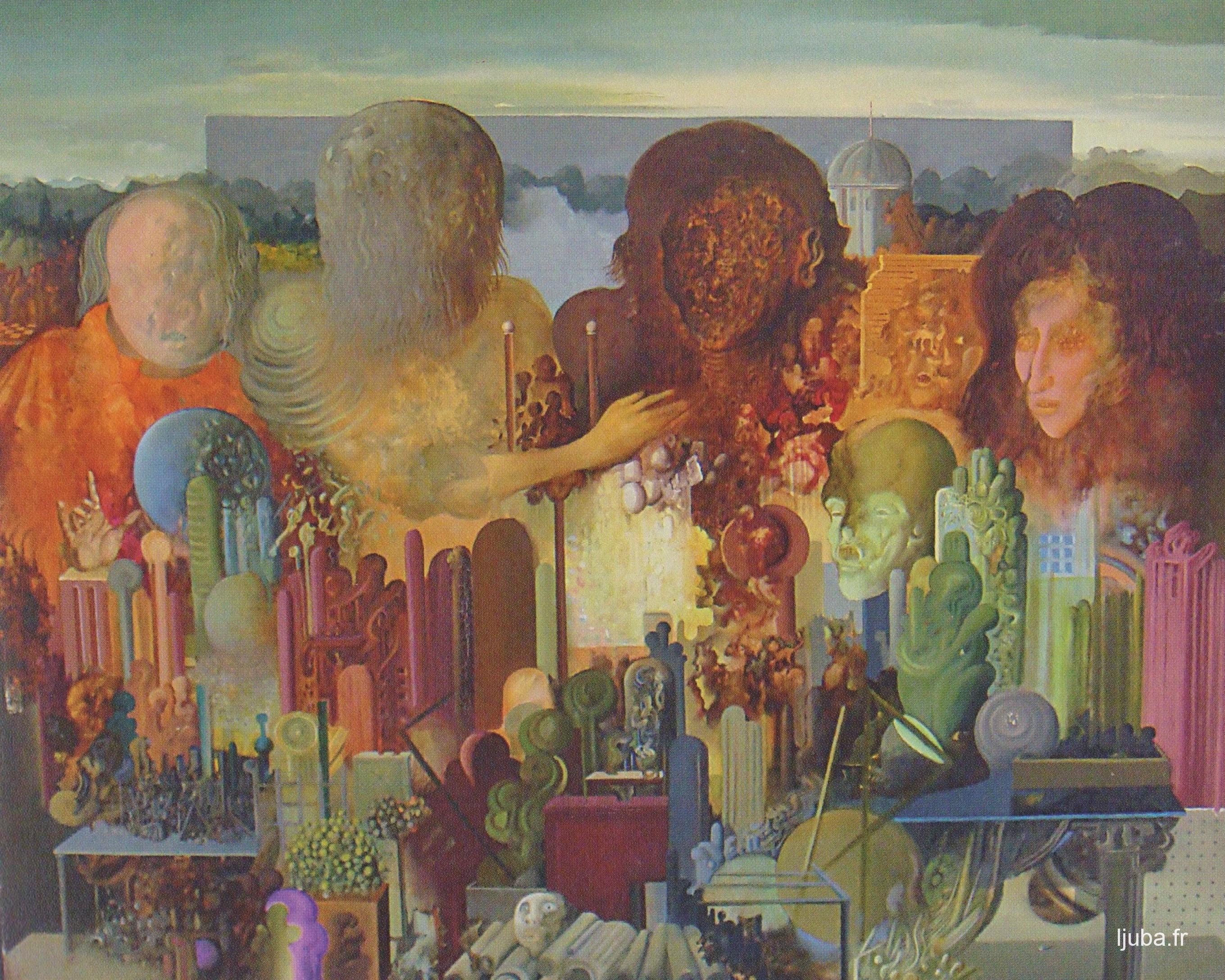 Ljuba Popovic - La ville des hommes mordus, 1969