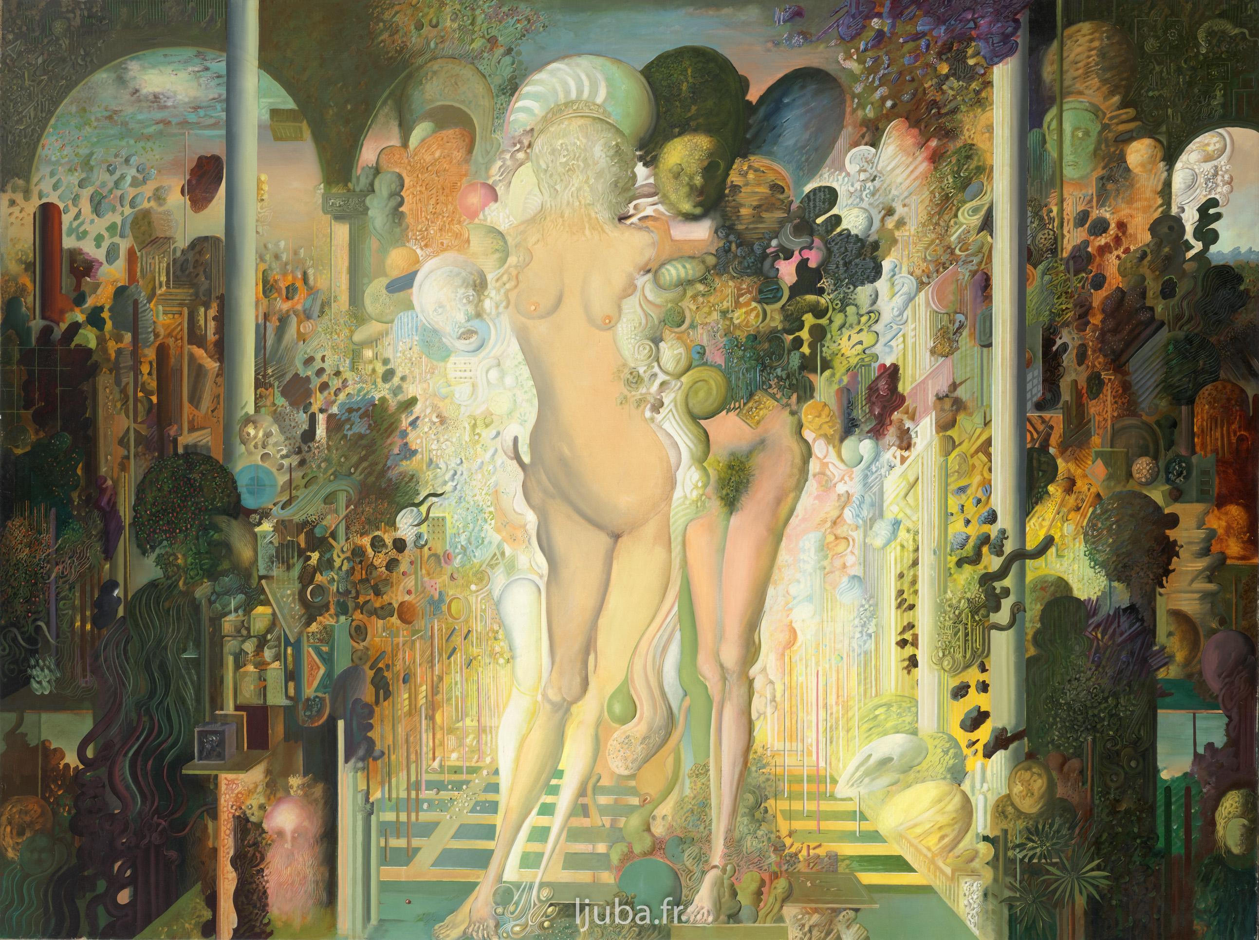 Ljuba Popovic - Vénus et la mort (Un jardin pour Vénus), 1972-70