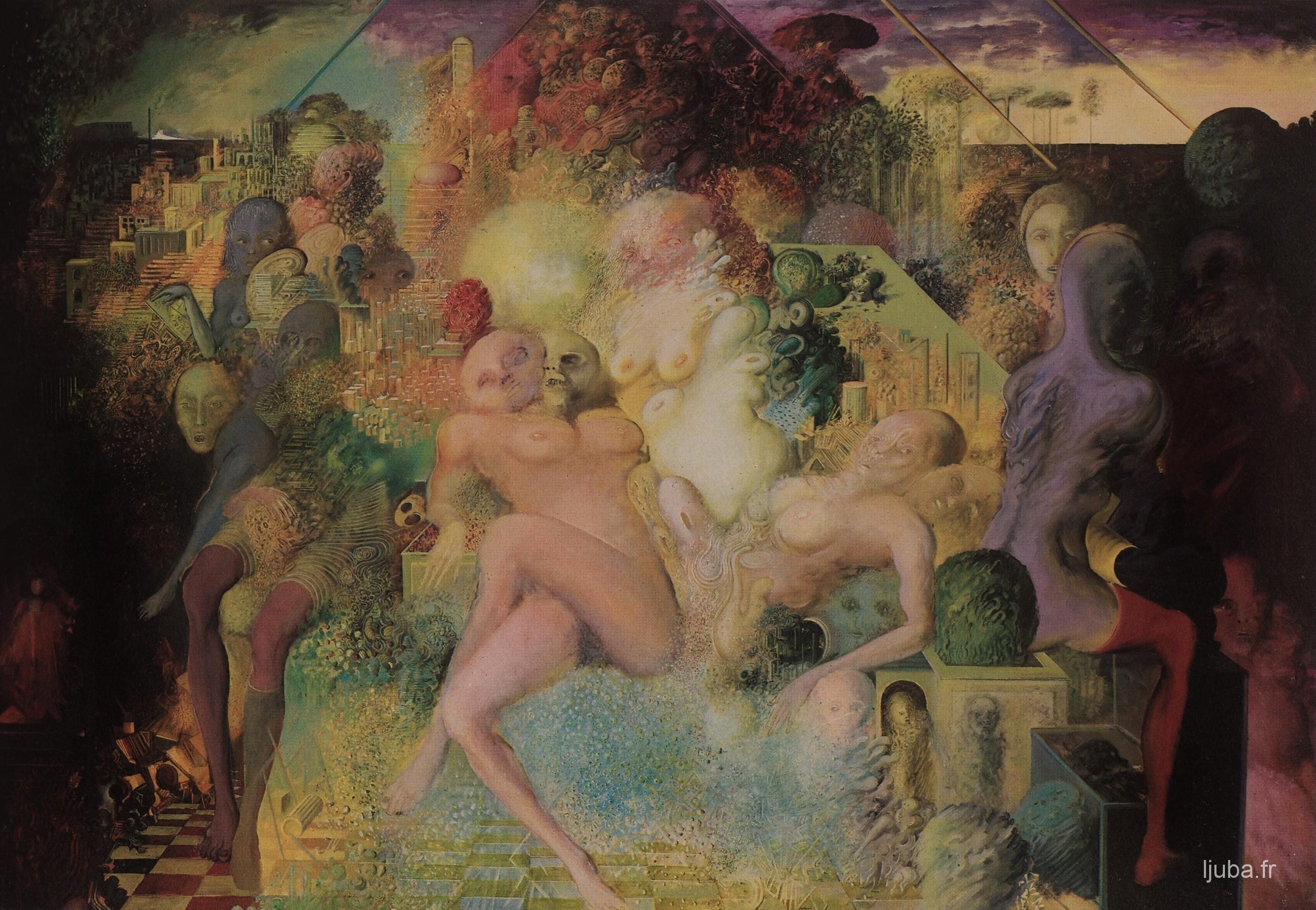 Ljuba Popovic - La réincarnation, 1975