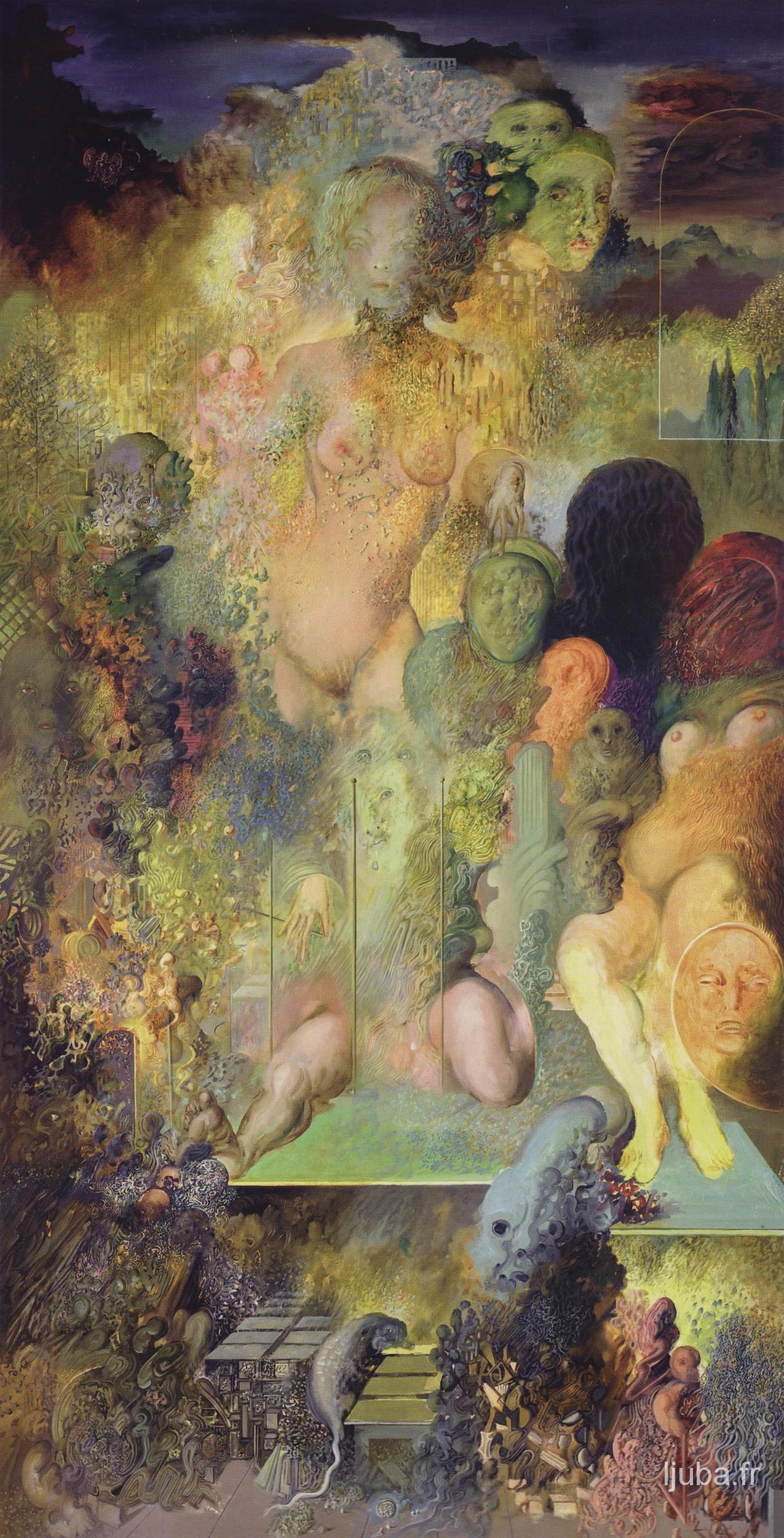 Ljuba Popovic - printemps (hommage à Goya), 1976-75