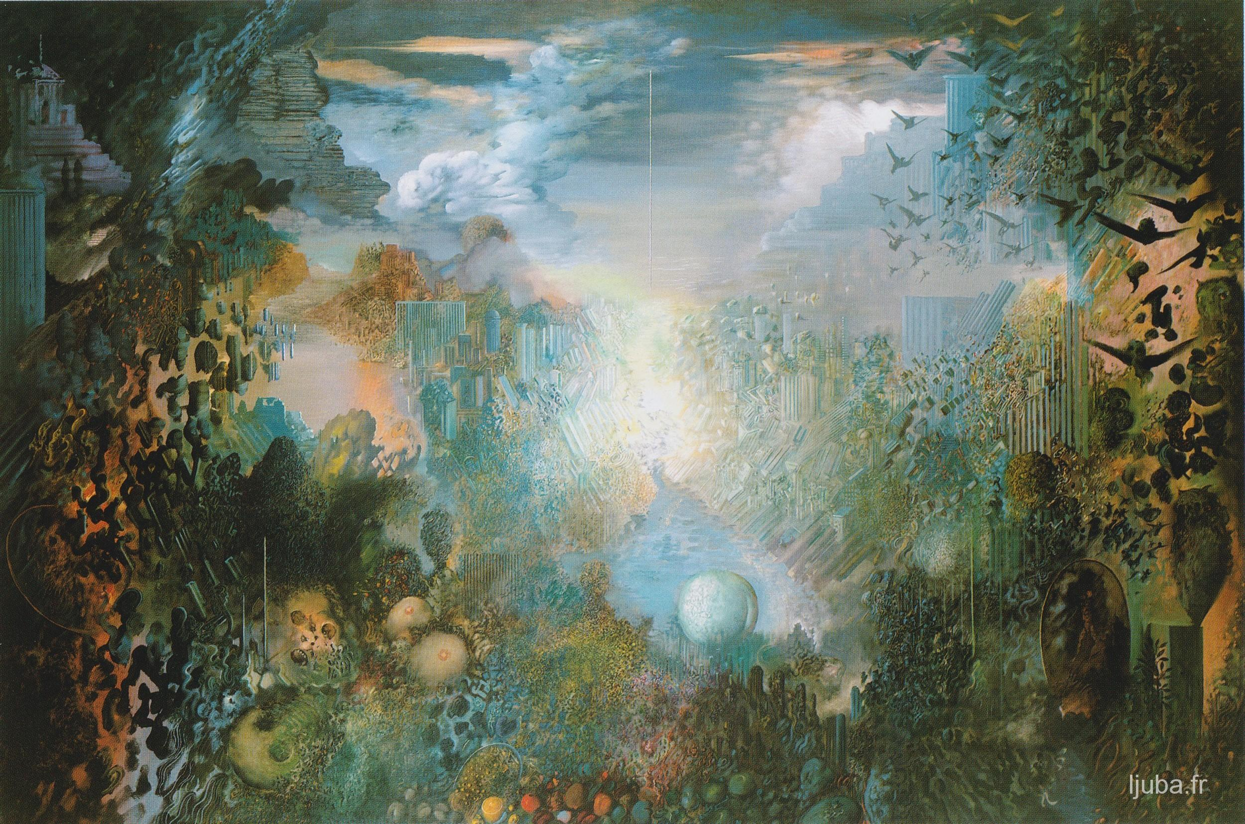 Ljuba Popovic - Le lieu de l'enterrement, 1985-84