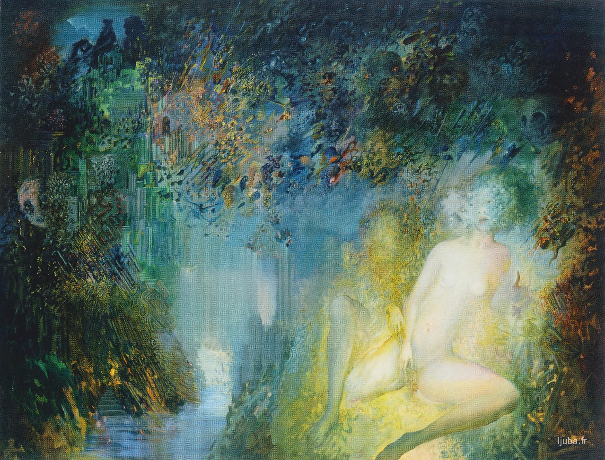 Ljuba Popovic - Les Tentations, 1986