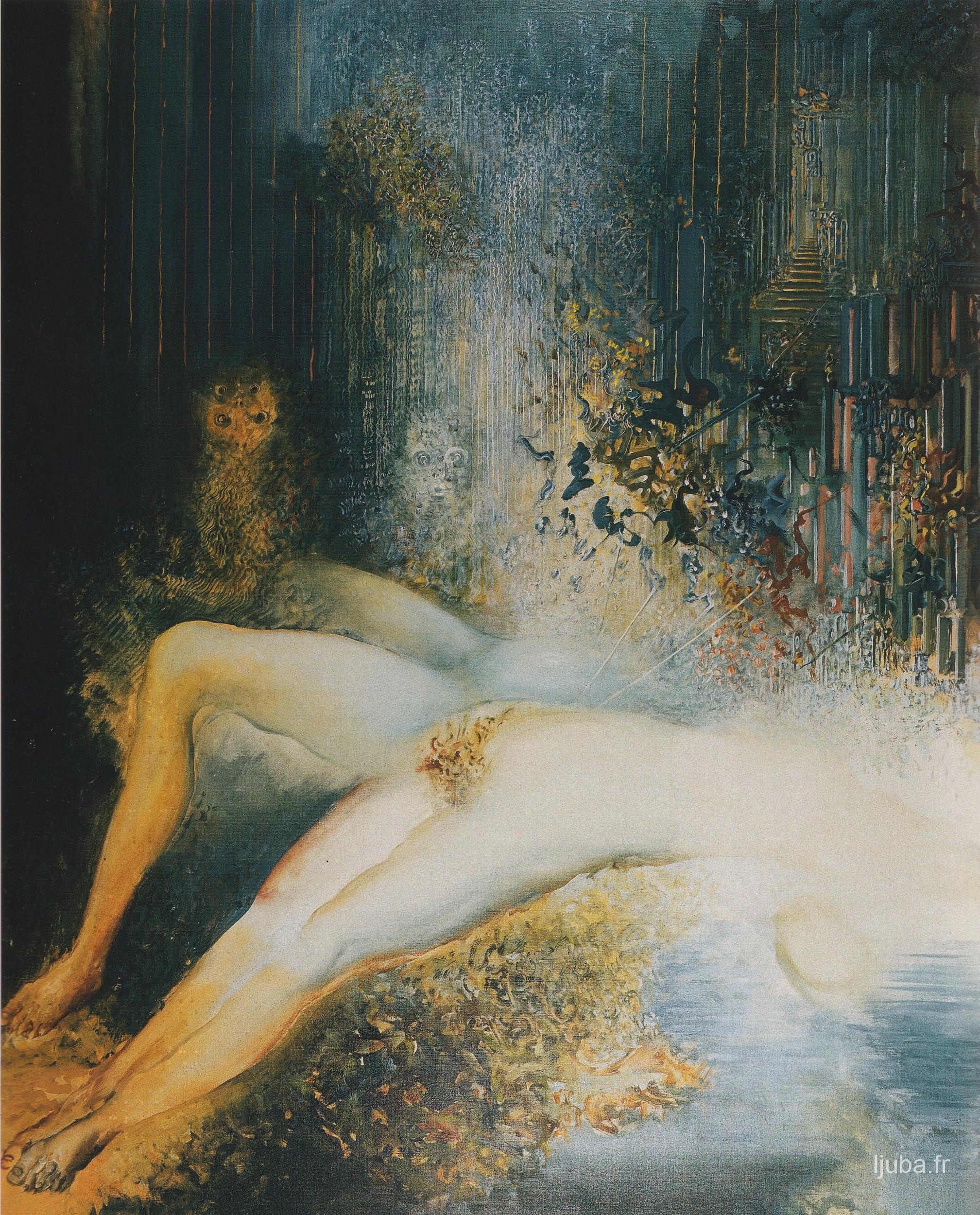 Ljuba Popovic - 1988, Dolina sove ili Histerično telo