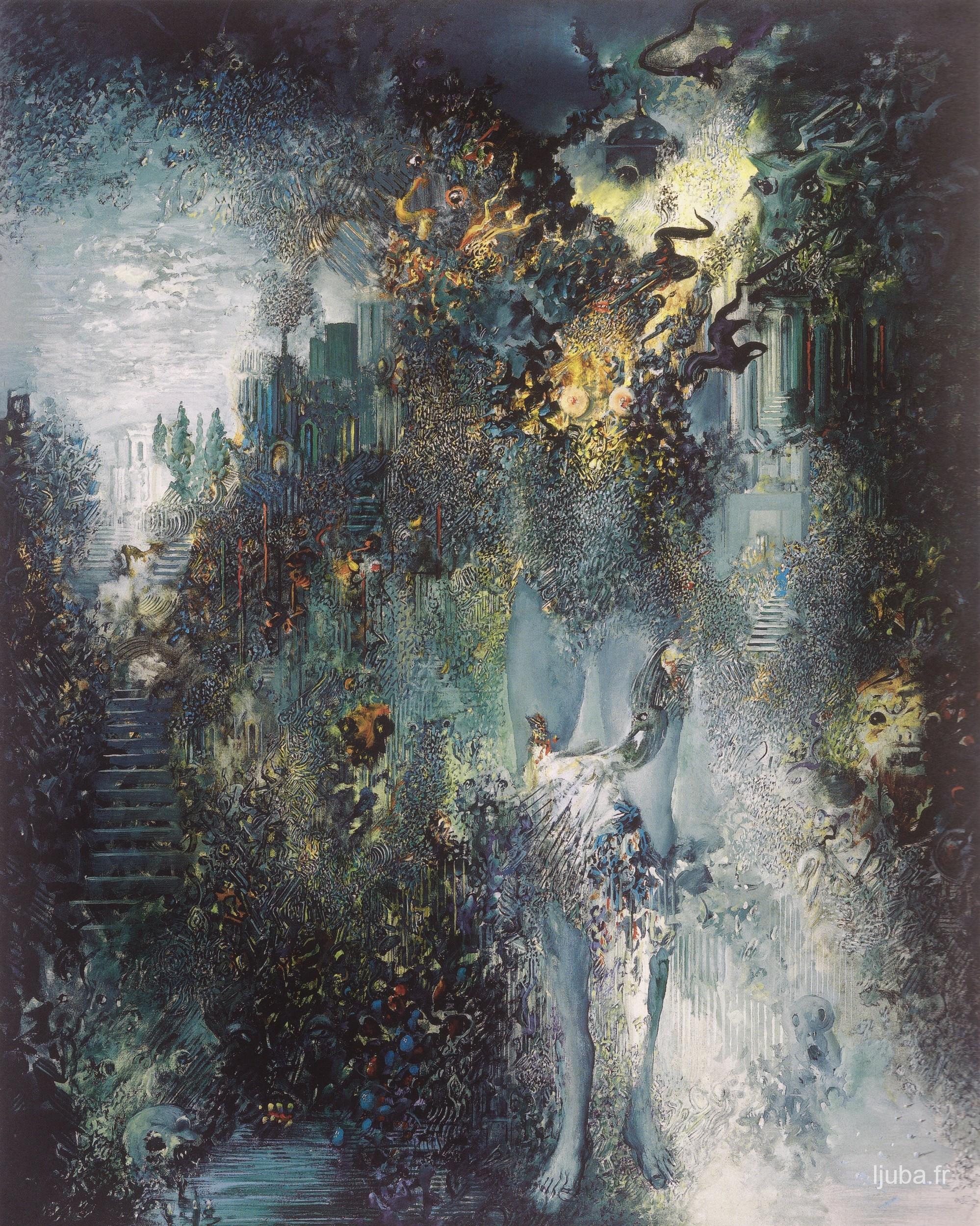 Ljuba Popovic - 1994, Le jardin du paon mort