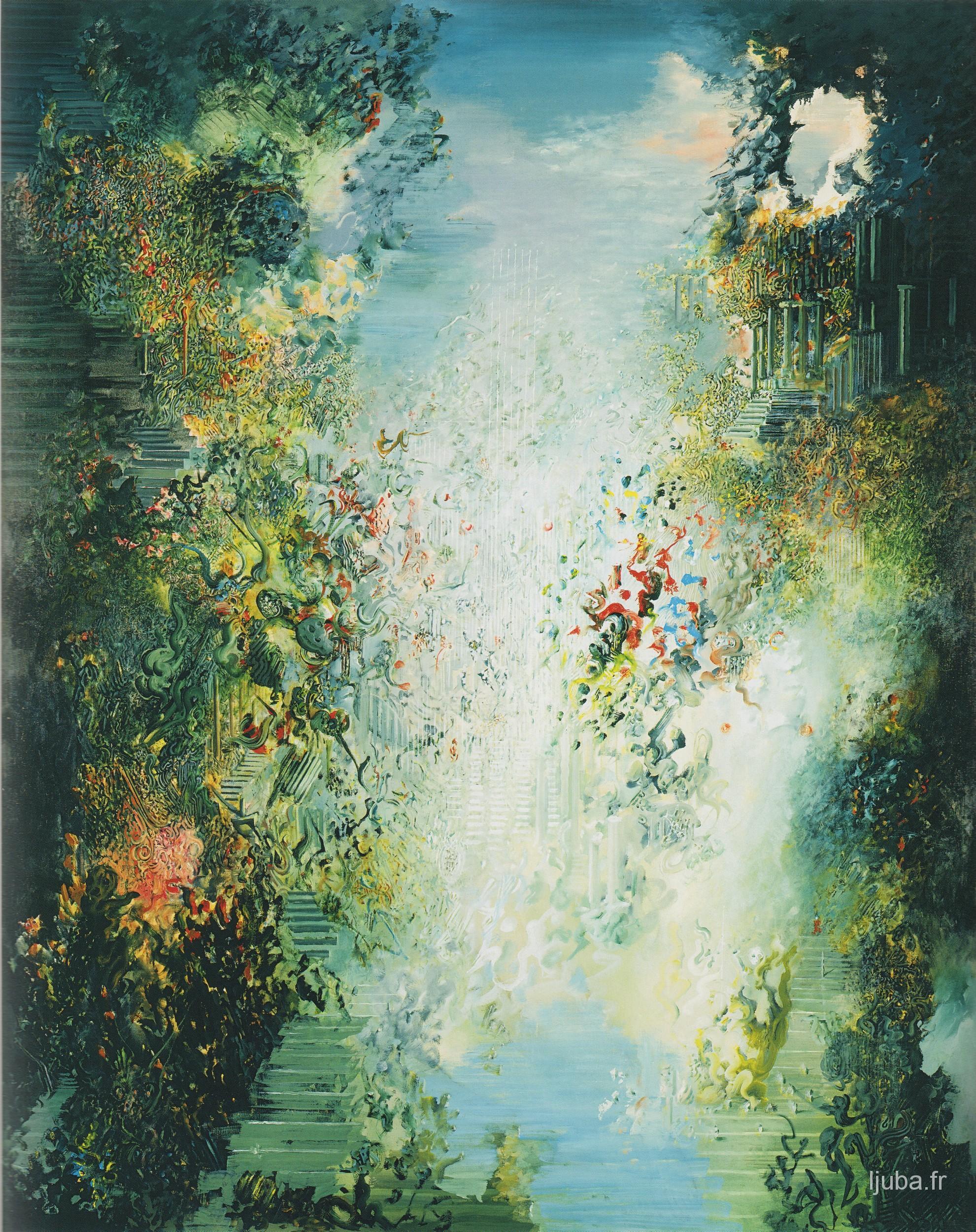 Ljuba Popovic - 1996-1990, Jardin d'amour sous surveillance