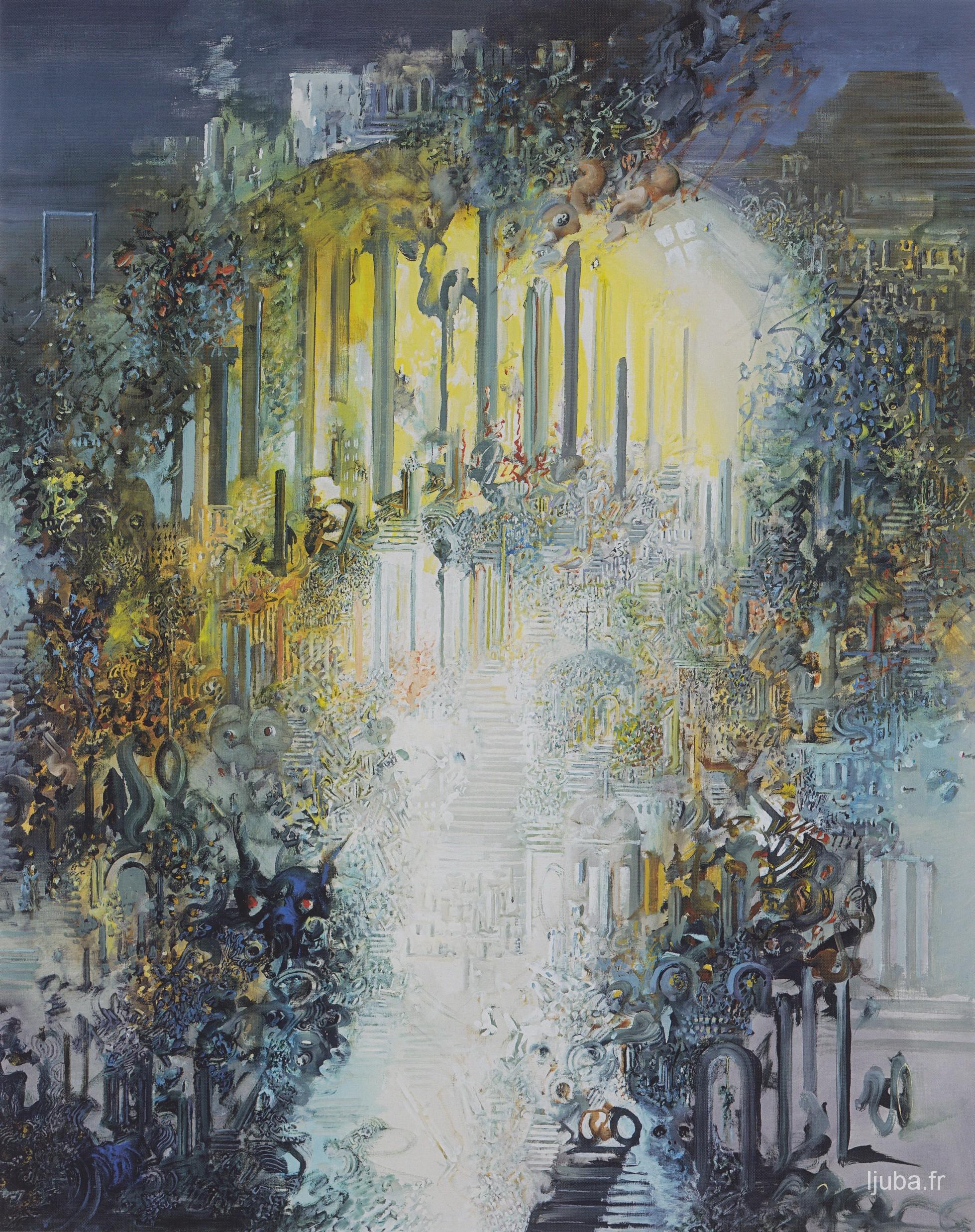 Ljuba Popovic - 2000, La vie sous une sphère dorée