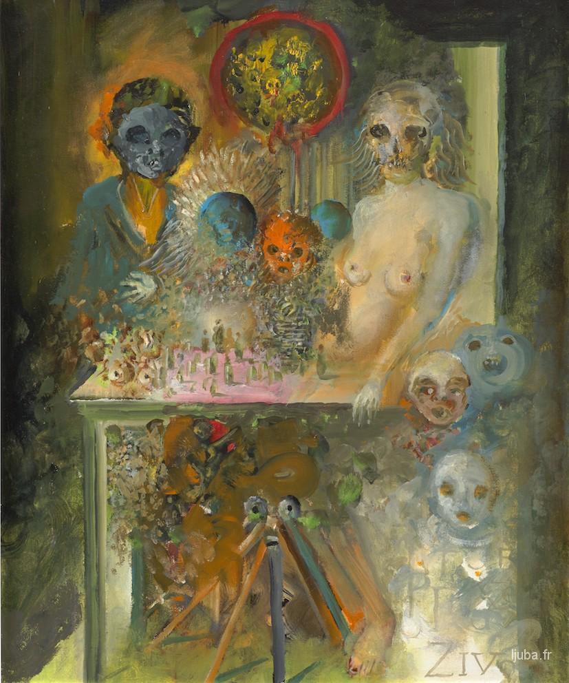 Ljuba Popovic - 2012, La naissance La Vie La Mort