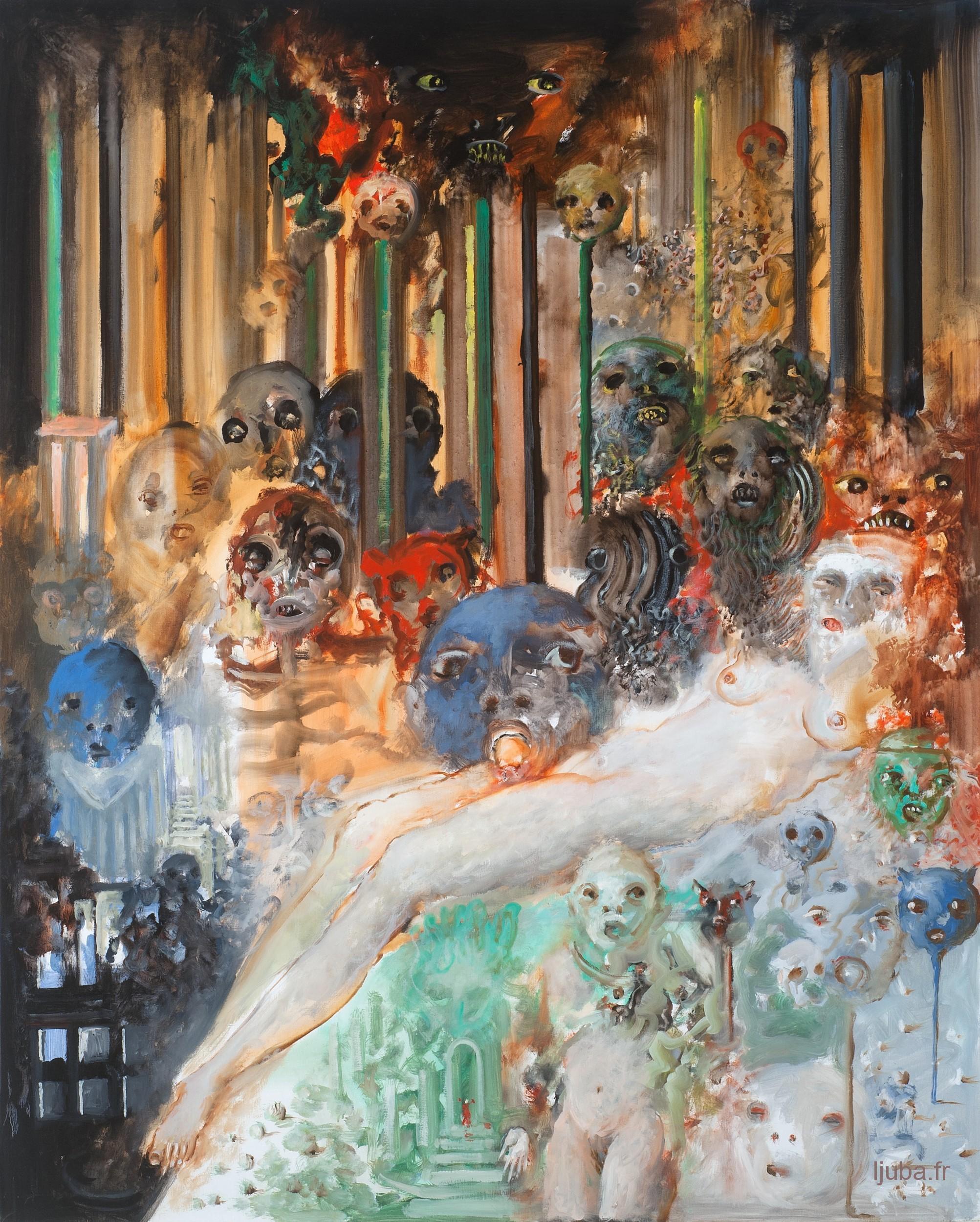 Ljuba Popovic - 2014, La belle au bois métallique