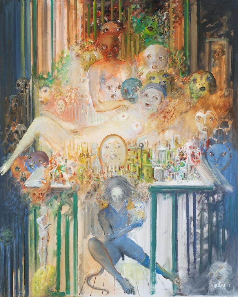Ljuba Popovic - 2015, Les miroirs des esprits oubliés