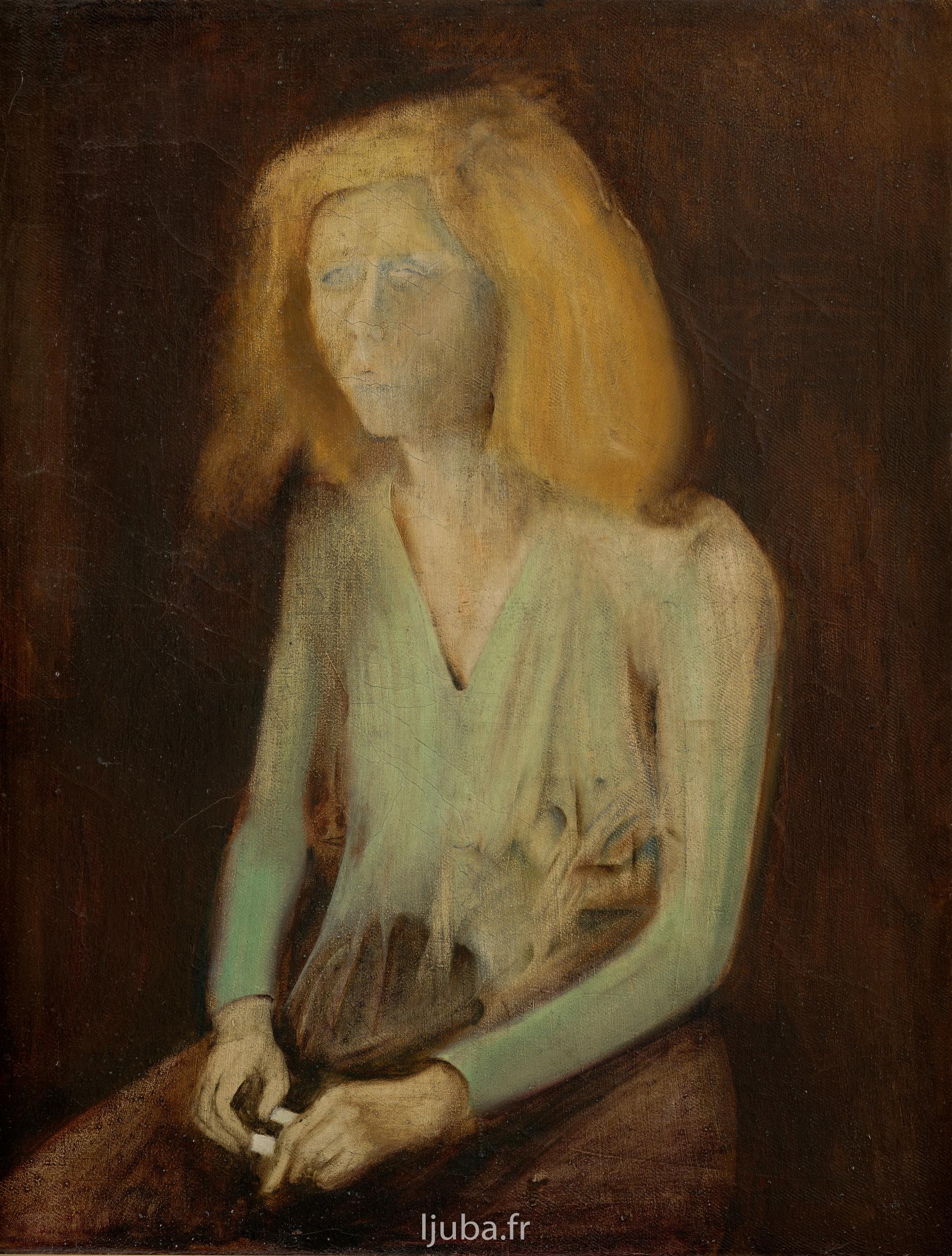Ljuba Popovic - 1957, Le Personnage jaune