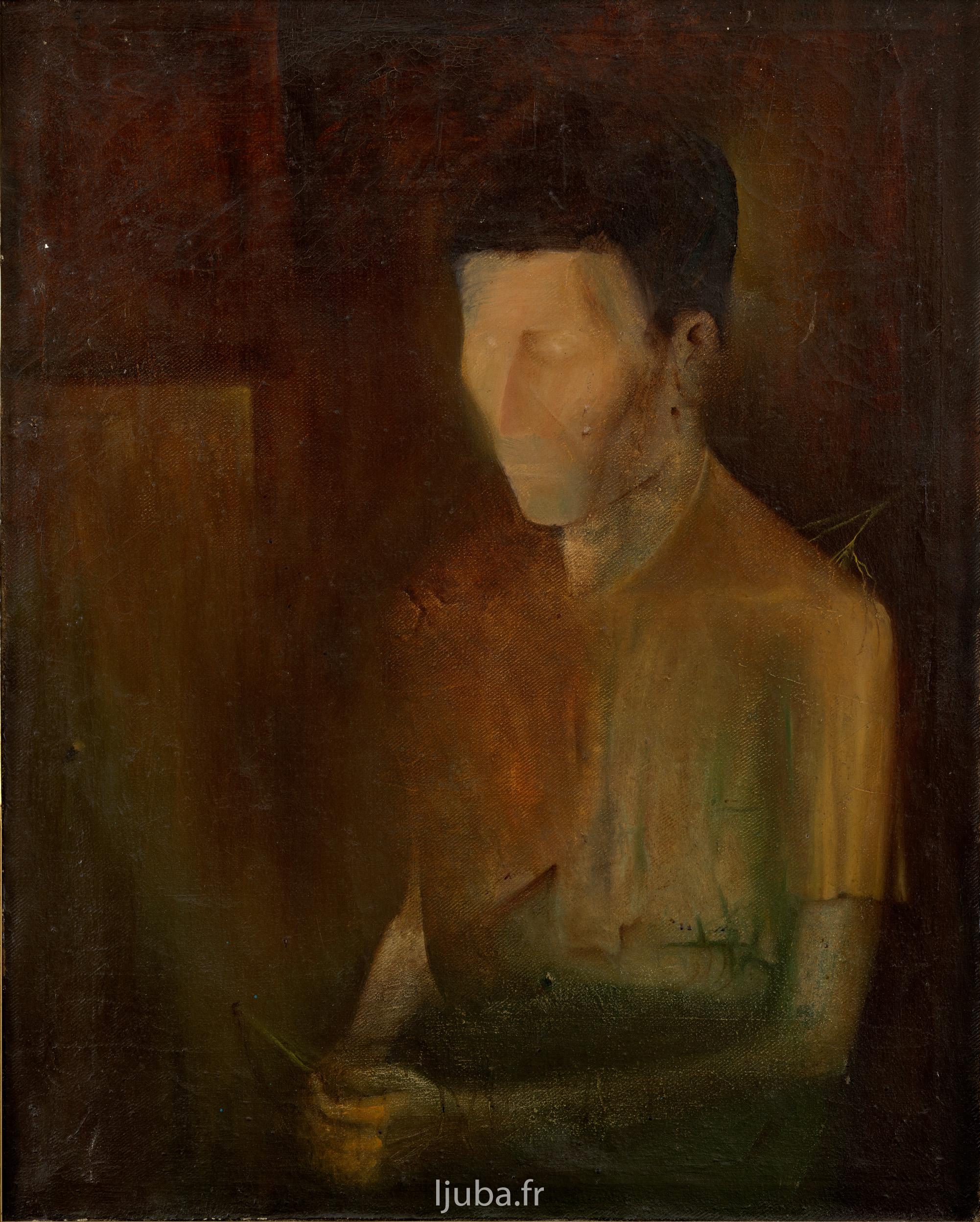 Ljuba Popovic - 1957, Nepoznati (Nevidljivi čovek)