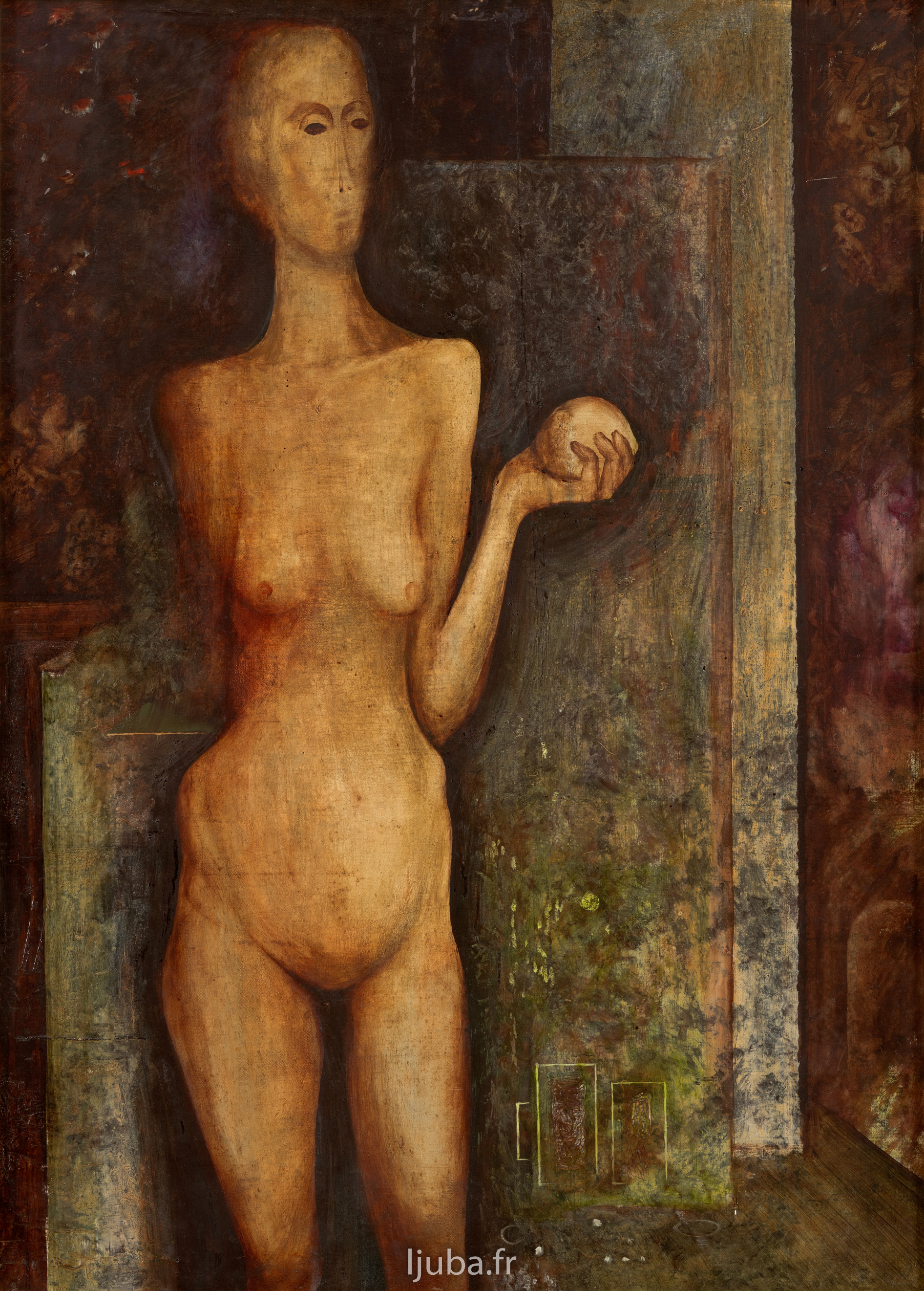 Ljuba Popovic - 1958, Cléopatre avec la pomme