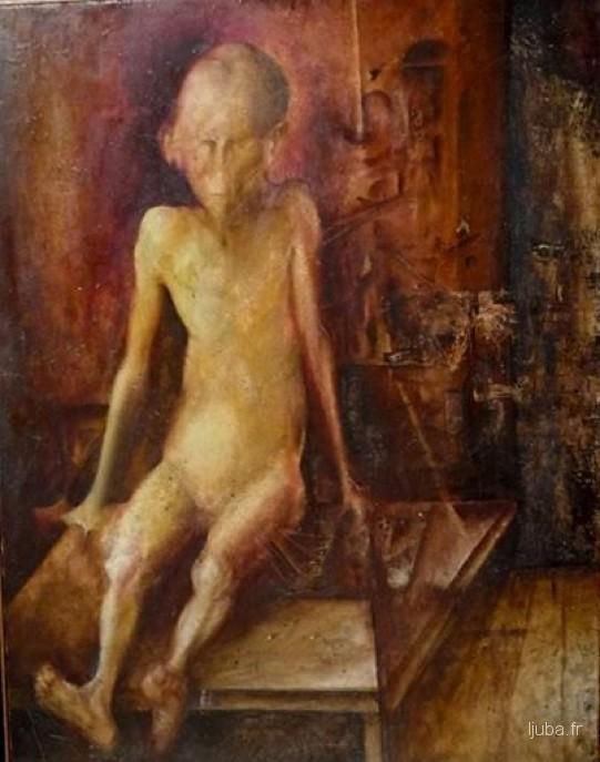 Ljuba Popovic - 1958, Studija (Peđica)