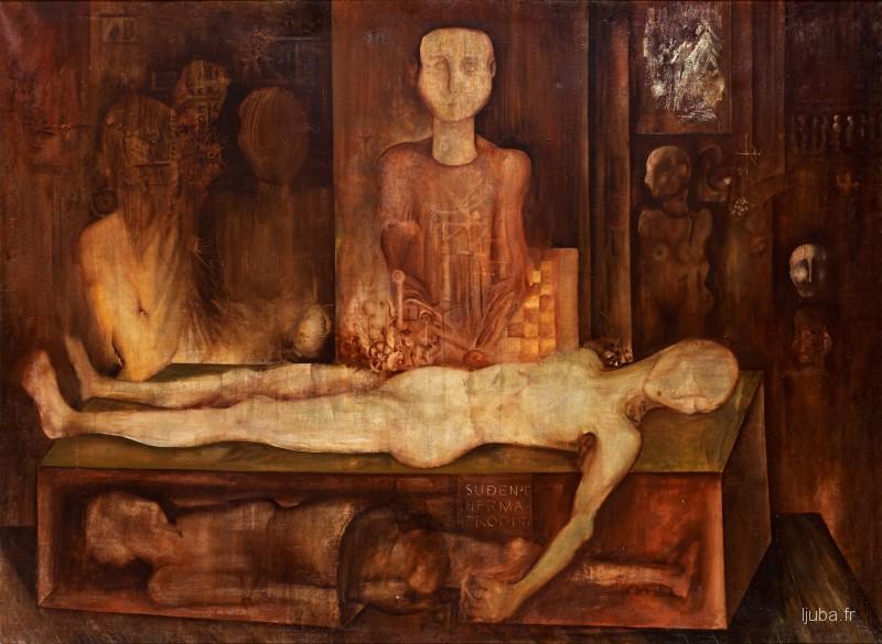 Ljuba Popovic - 1959, Le jugement de l'hermaphrodite