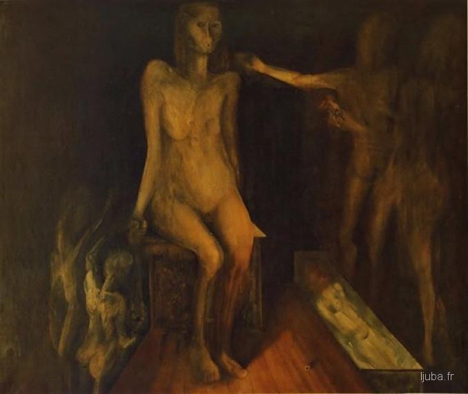 Ljuba Popovic - 1959, Izgnanstvo iz raja