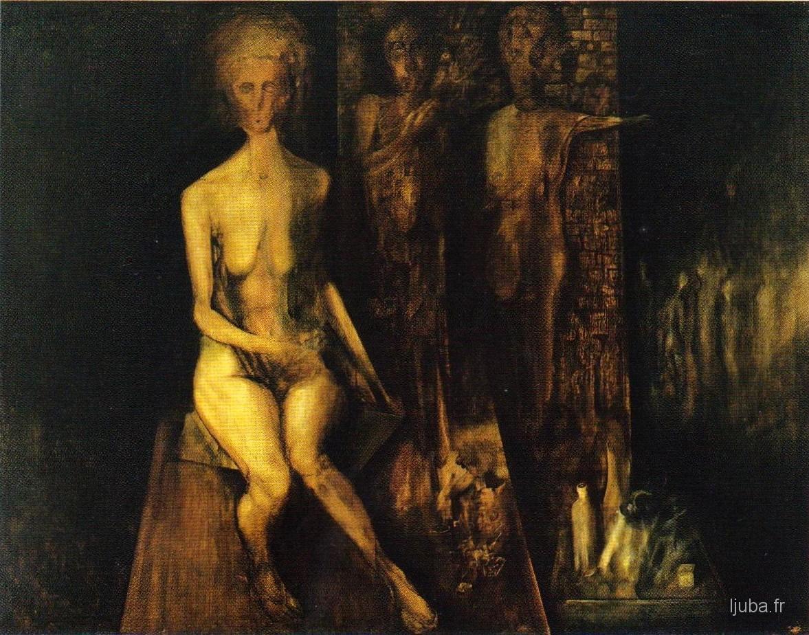 Ljuba Popovic - 1959, L'image verte du grenier