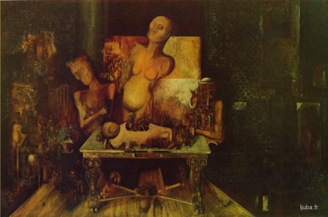 Ljuba Popovic - 1962-60, Les pélerins d'Emmaüs