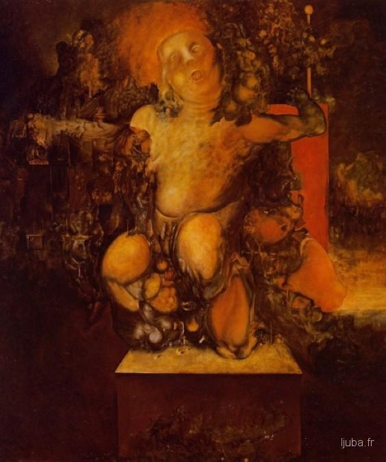 Ljuba Popovic - 1962, Rascvetavanje genitalija