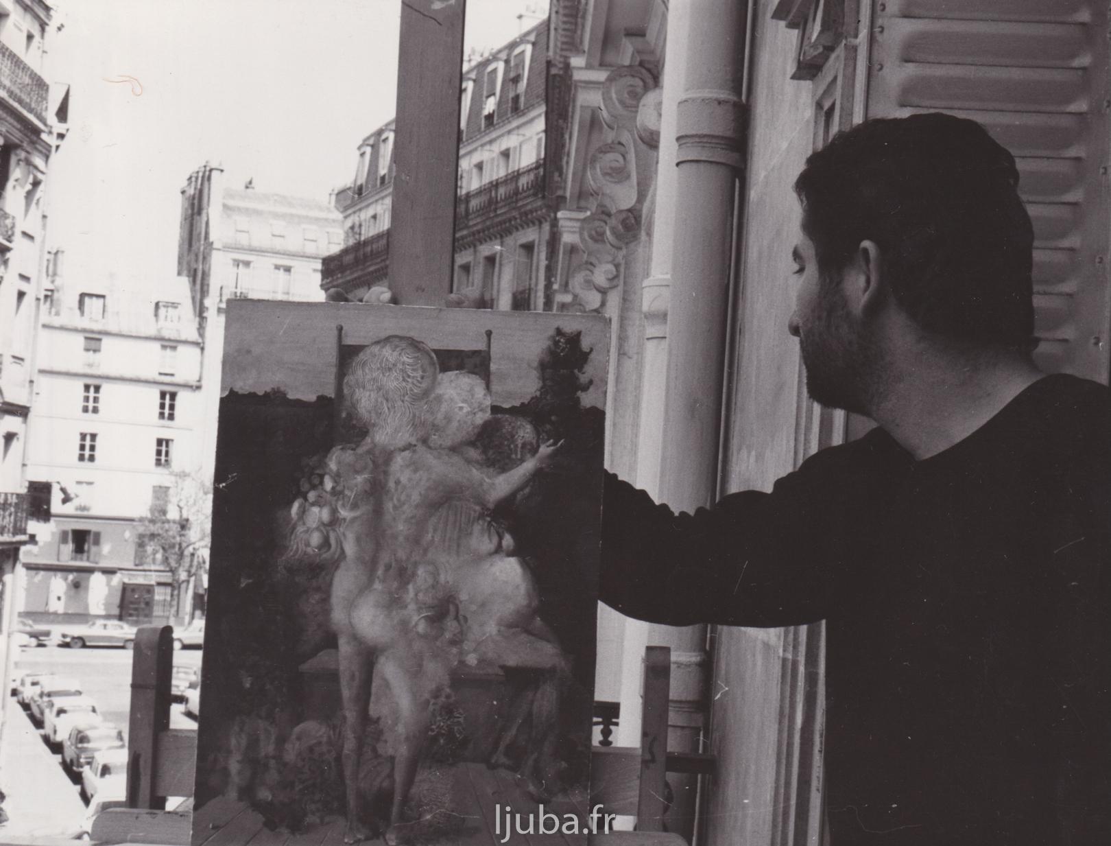 18. 1966., Ljuba u stanuateljeu u višespratnici u kvartu Monparnas, slika Sparivanje_