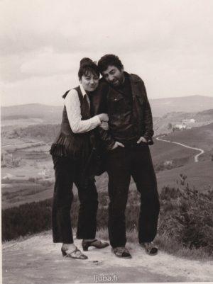 13a 1966., Ljuba i Natasa Jancic sredinom sezdesetih_