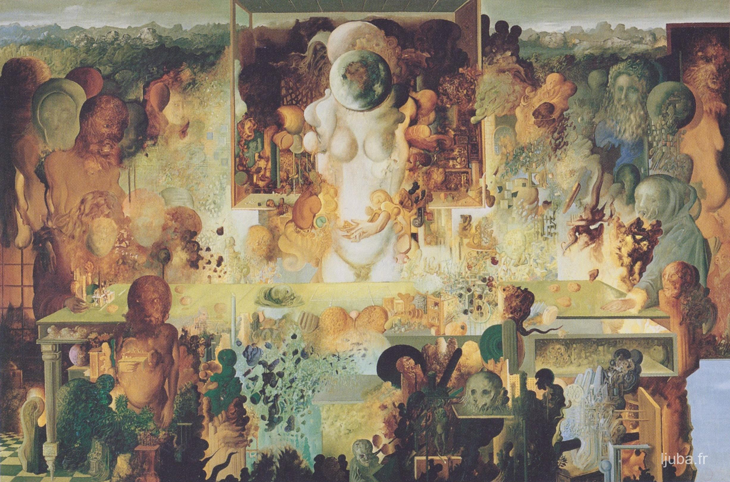 Ljuba Popovic - La divination ou Hommage à Arthur Clarke et Stanley Kubrick, 1969-68