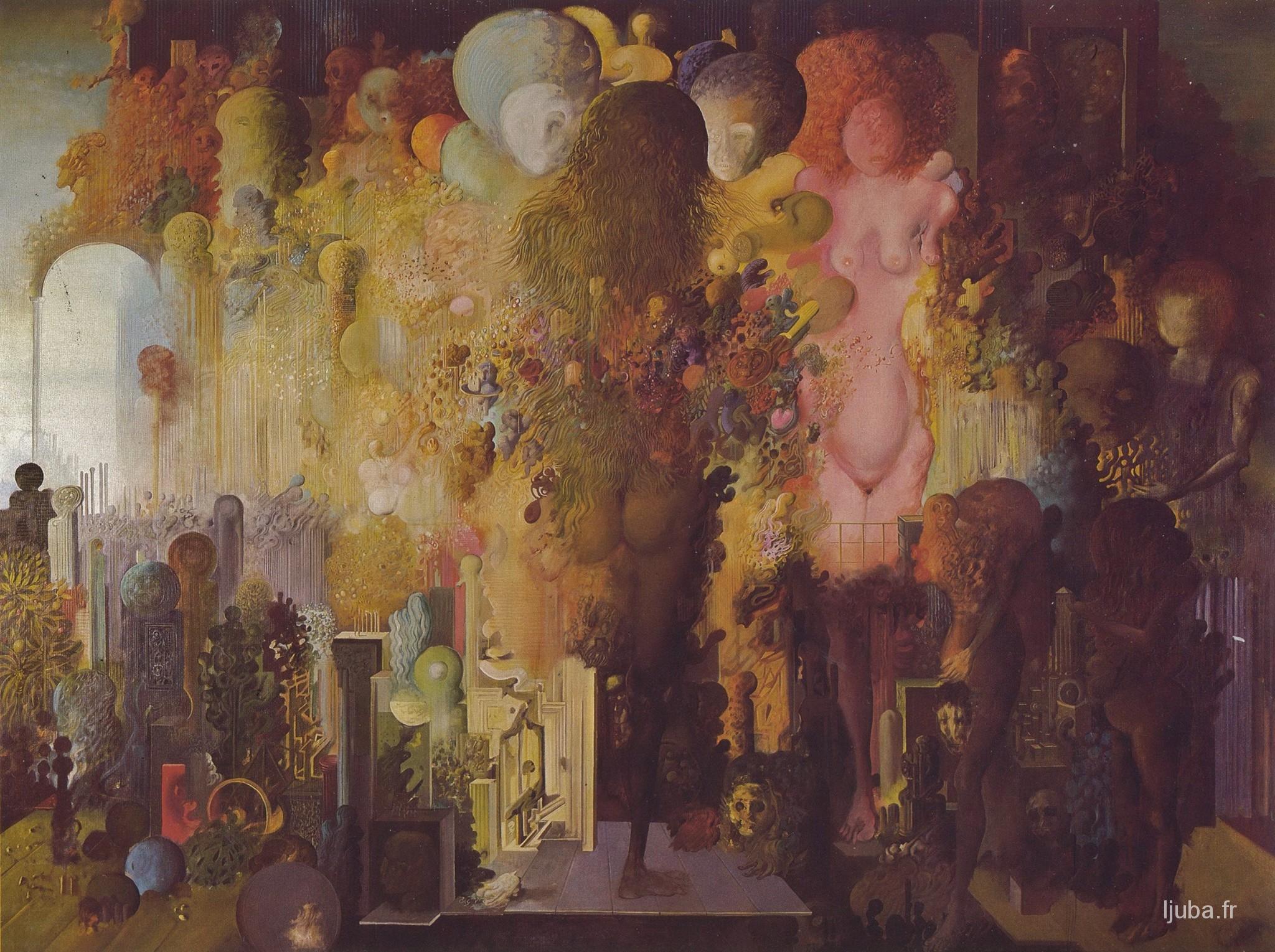 Ljuba Popovic - Naissance de l'homme cosmique, 1971-70