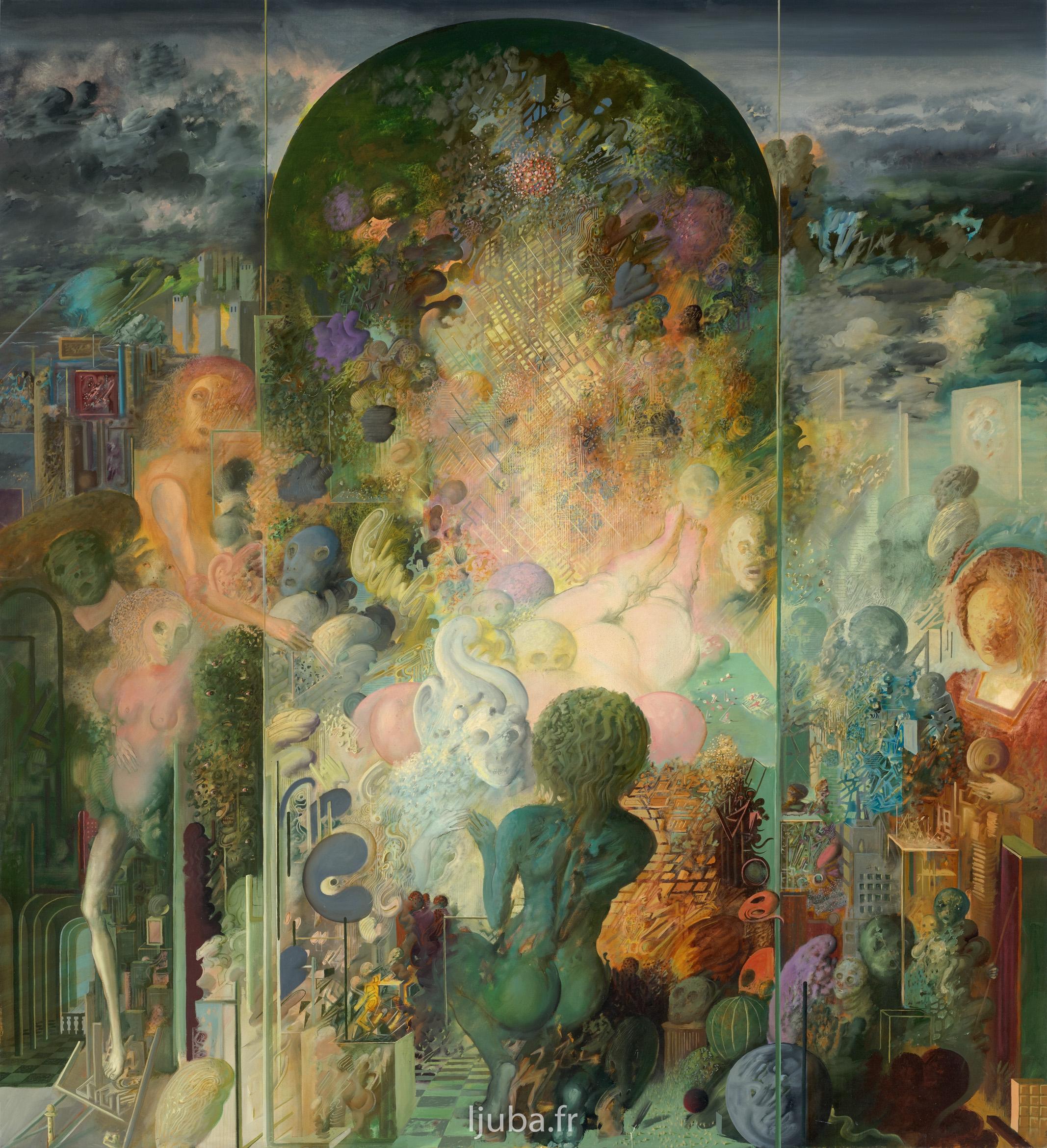 Ljuba Popovic - La Prière ou La clé de l'Univers (l'hommage à 0.V. MILOSZ), 1973
