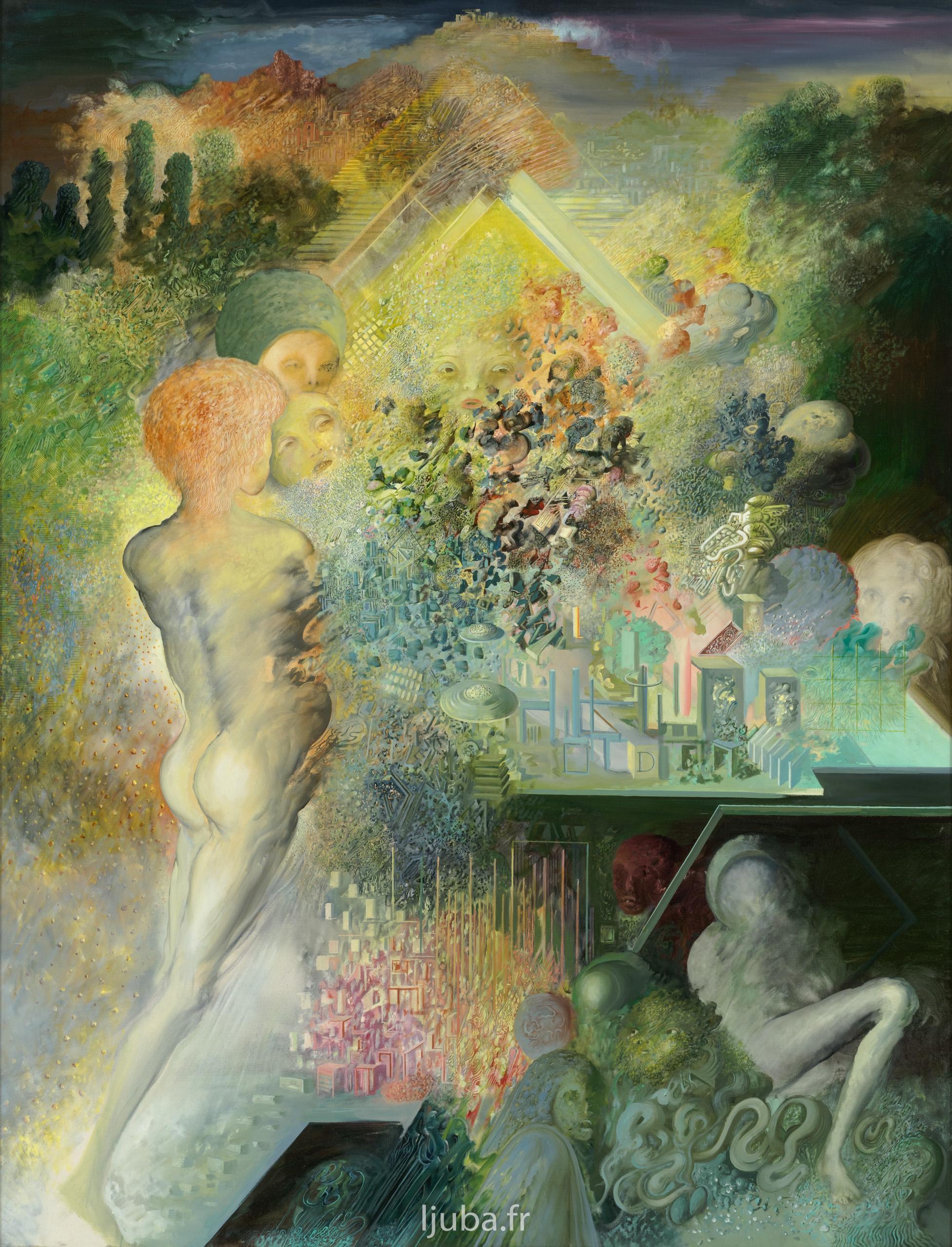 Ljuba Popovic - La conscience cosmique, 1975