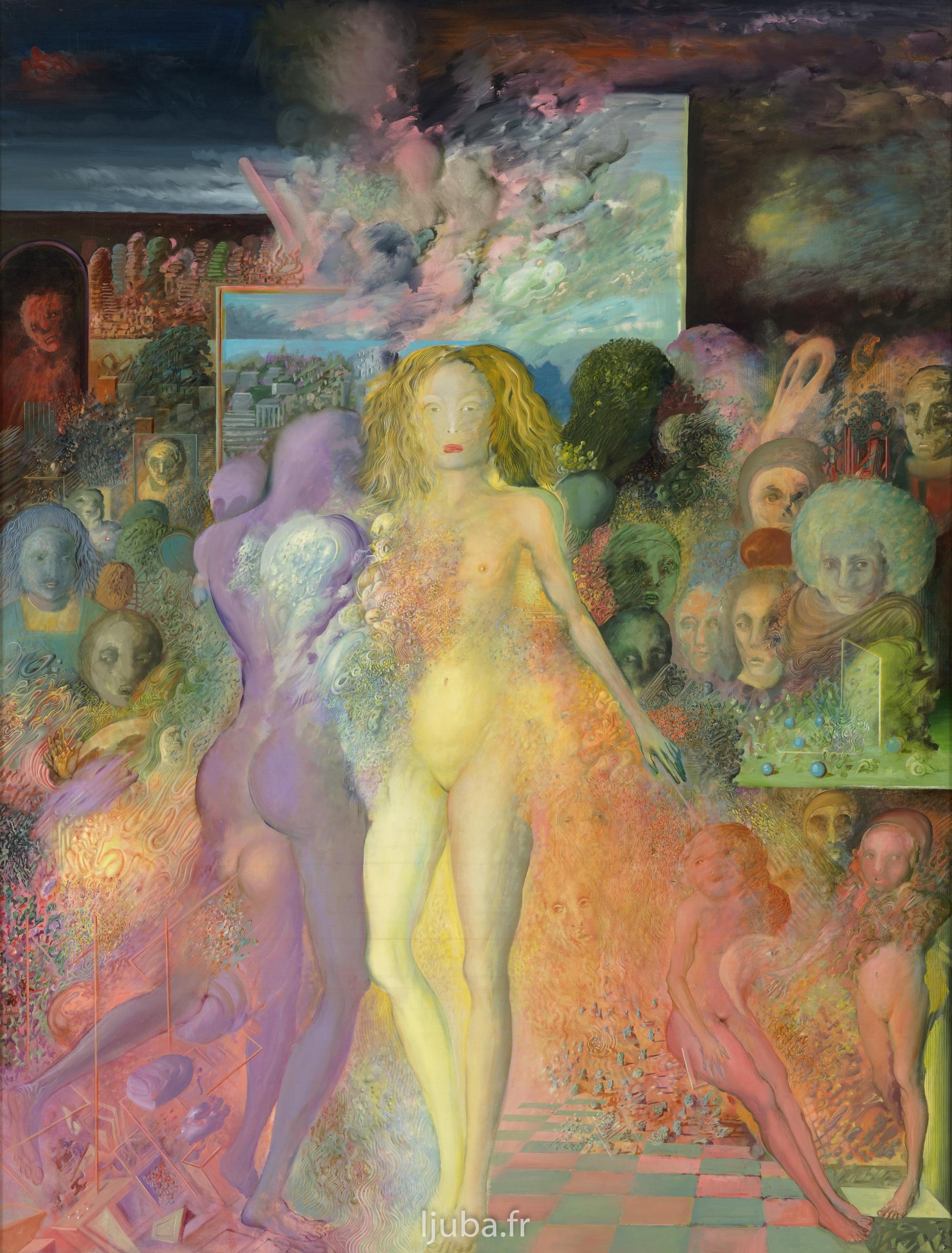 Ljuba Popovic - La dompteuse et les esprits, 1976-75
