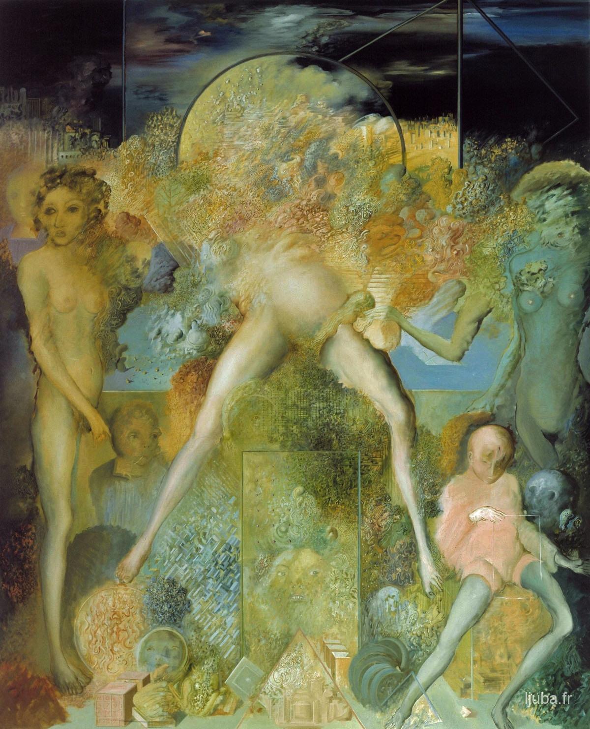 Ljuba Popovic - La terre (Molly), 1977-76