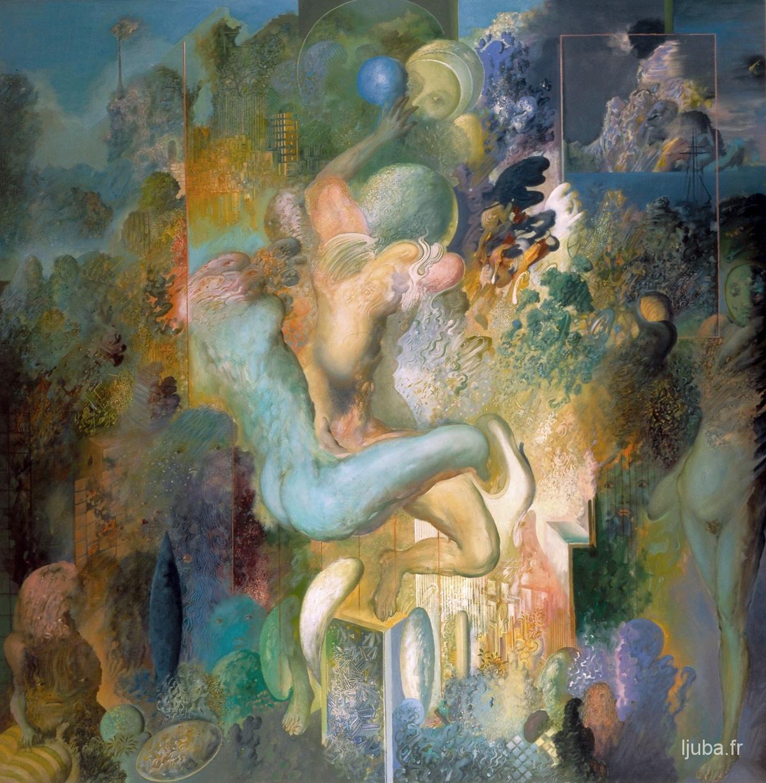 Ljuba Popovic - Le Désir II (Le paradis perdu), 1977
