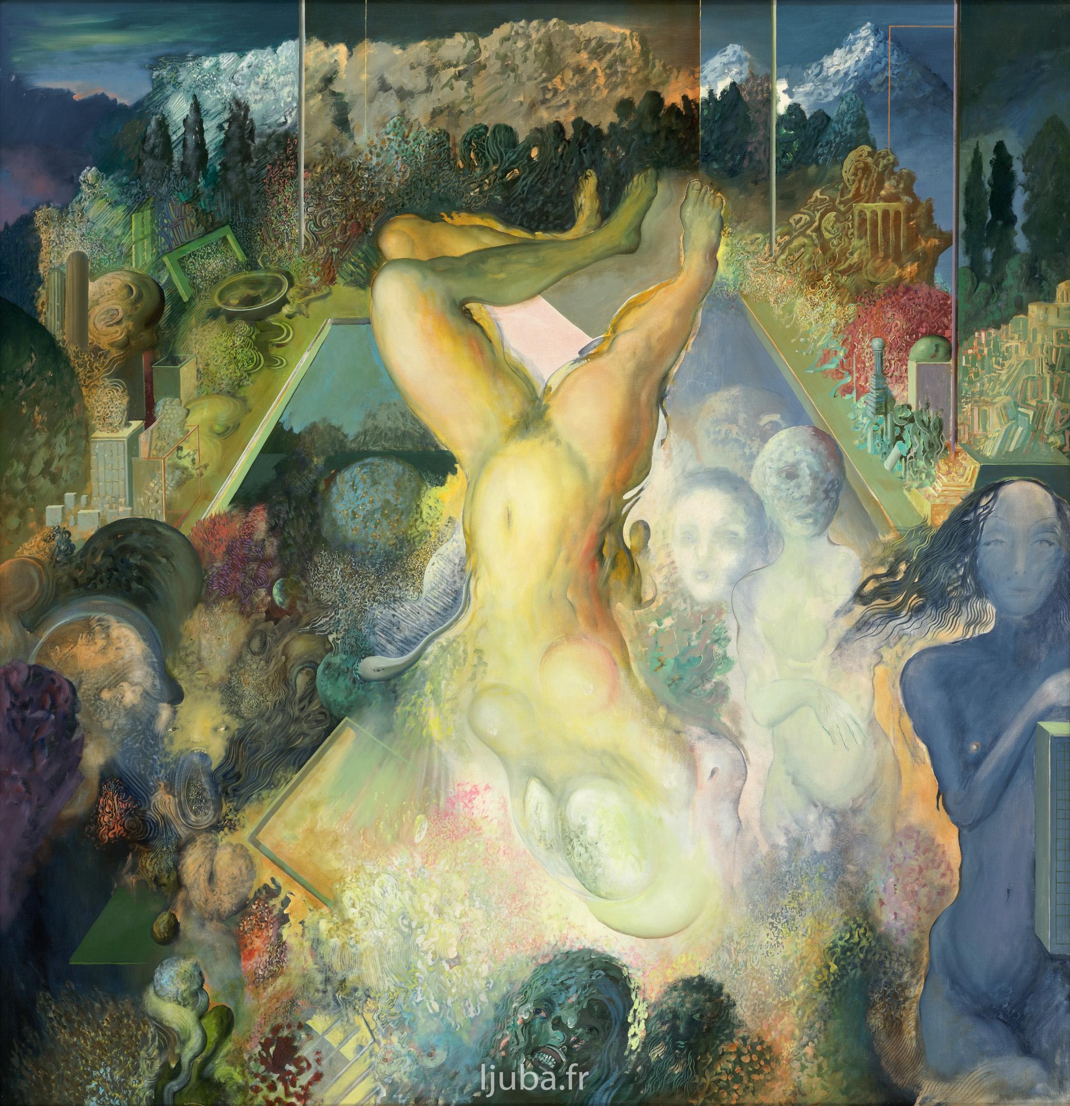 Ljuba Popovic - Le Désir III (Le paradis perdu), 1978
