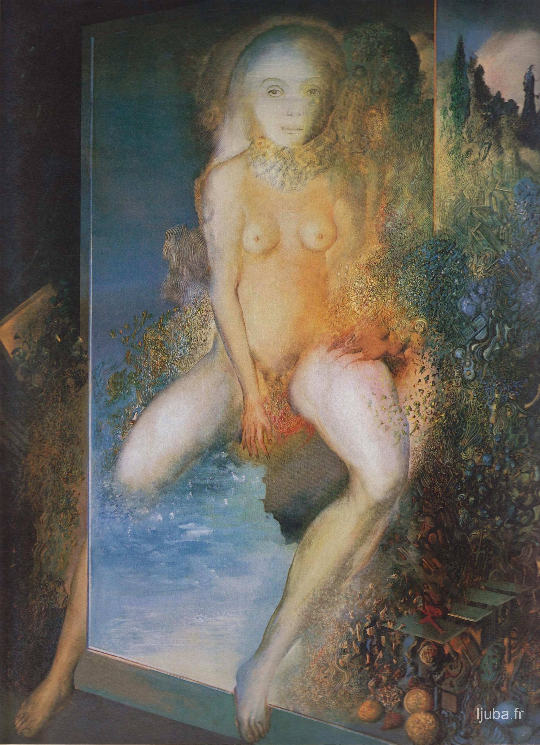 Ljuba Popovic - L'amour dans le miroir, 1980