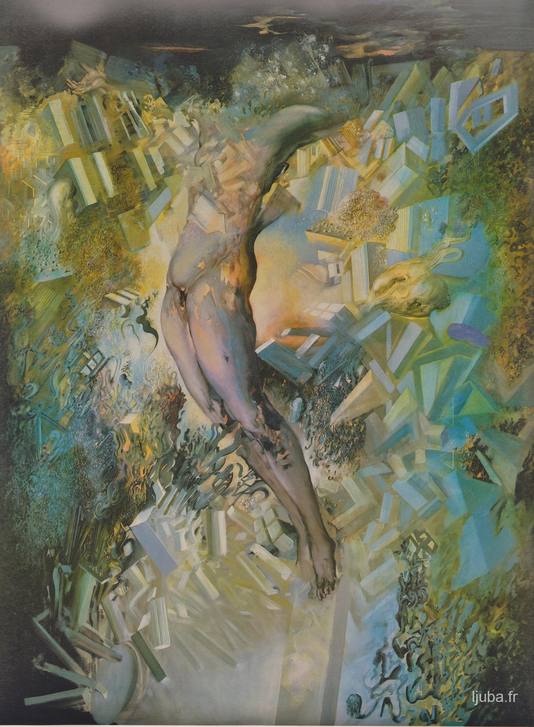 Ljuba Popovic - La crucifiction, 1981-80