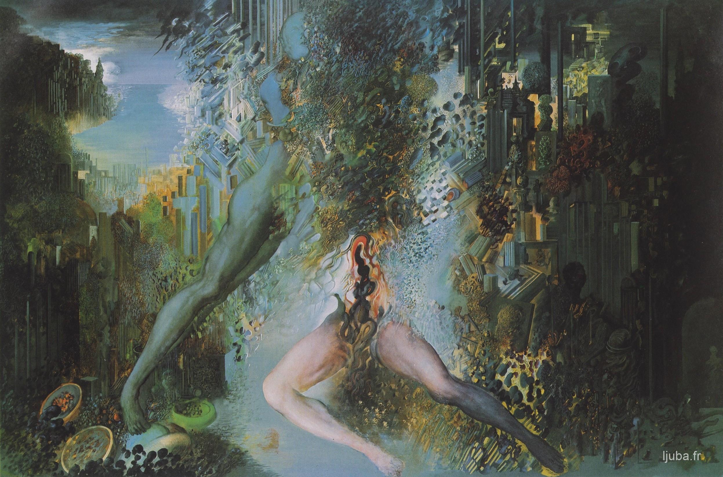 Ljuba Popovic - L'étouffement (Hara-kiri ou Hommage à Michima), 1983