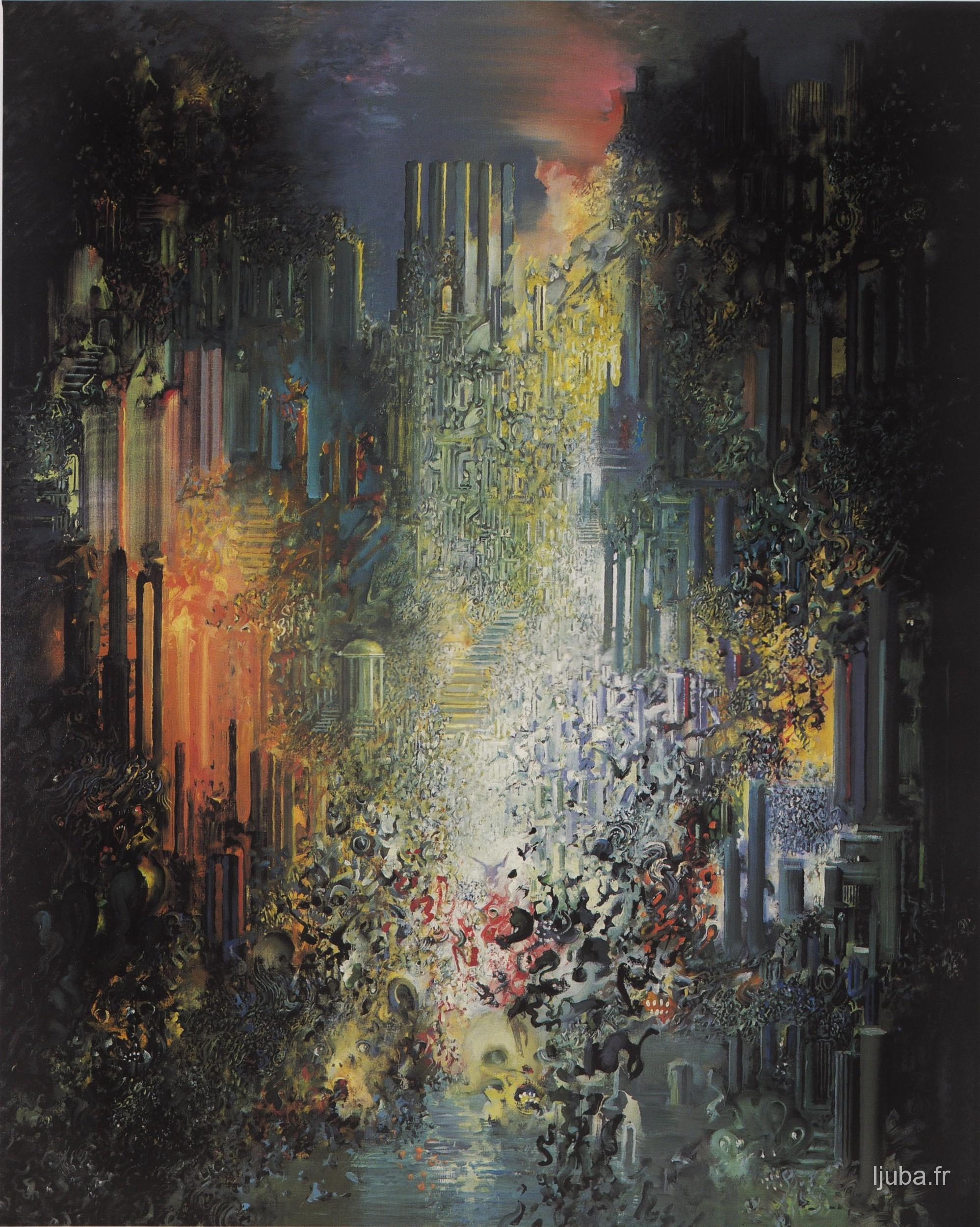 Ljuba Popovic - 1995, Tajna zlatne ruševine
