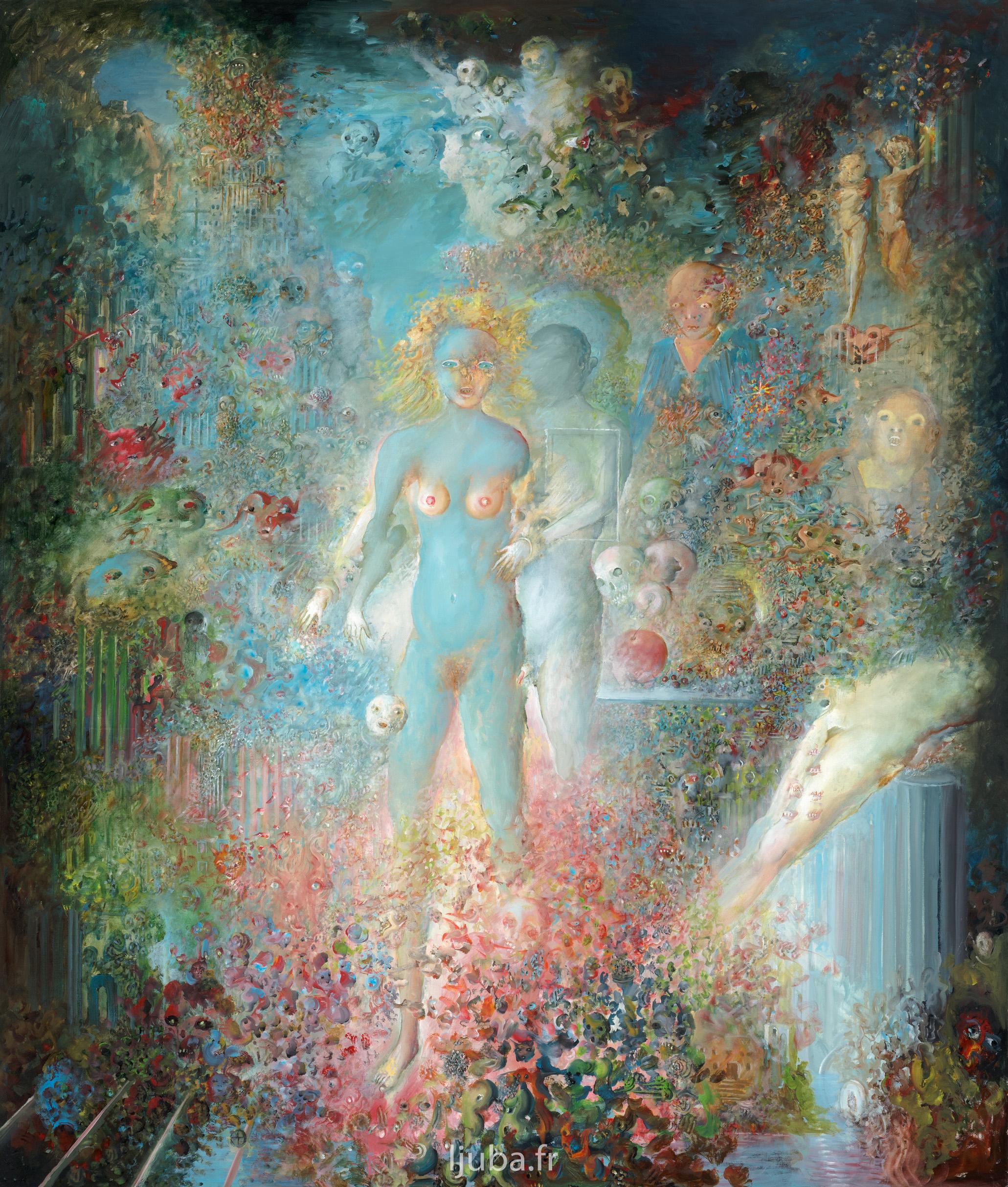Ljuba Popovic - 2007-06, Stvaranjesveta, Adam i Eva