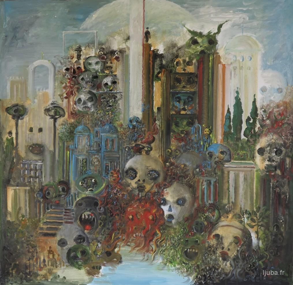 Ljuba Popovic - 2014, Kula odsečenih glava