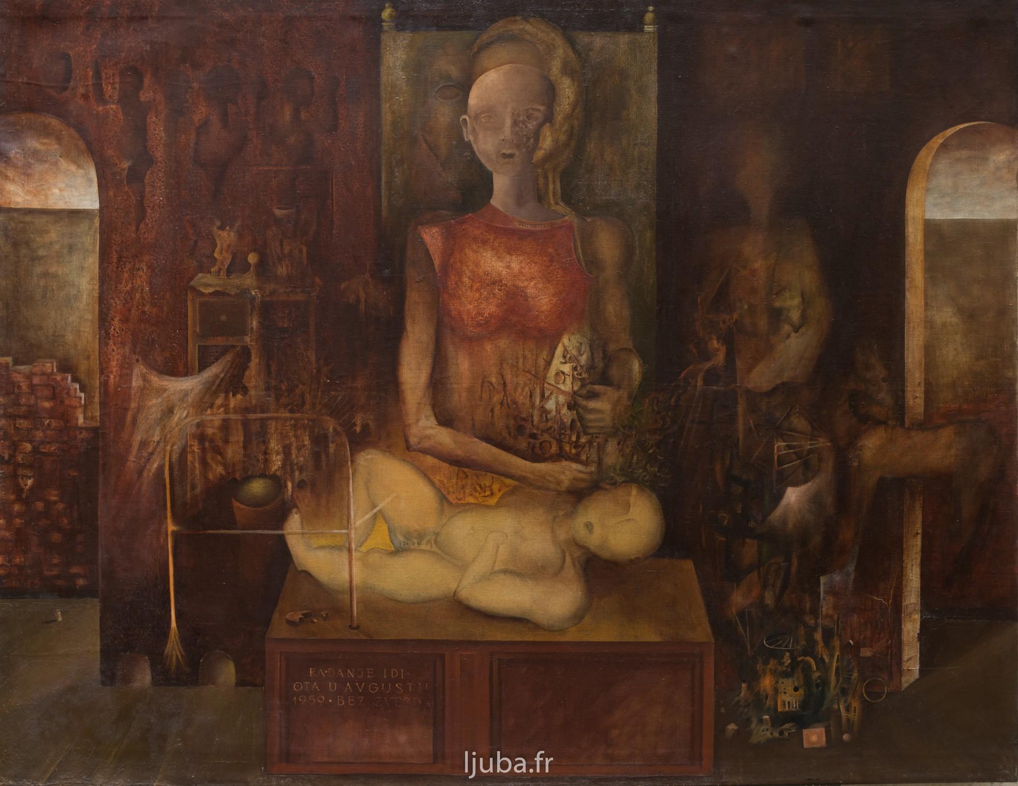 Ljuba Popovic - 1959, La naissance d'un idiot