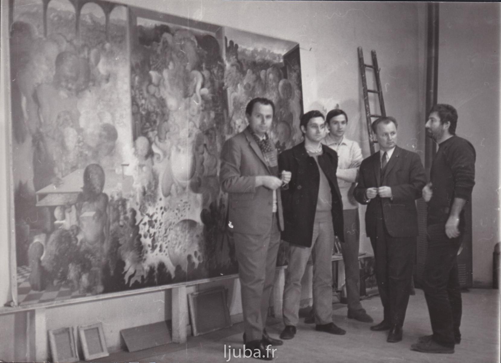 22. 1968., Atelje Odesa, ekipa televizije, snimanje filma o Medijali_