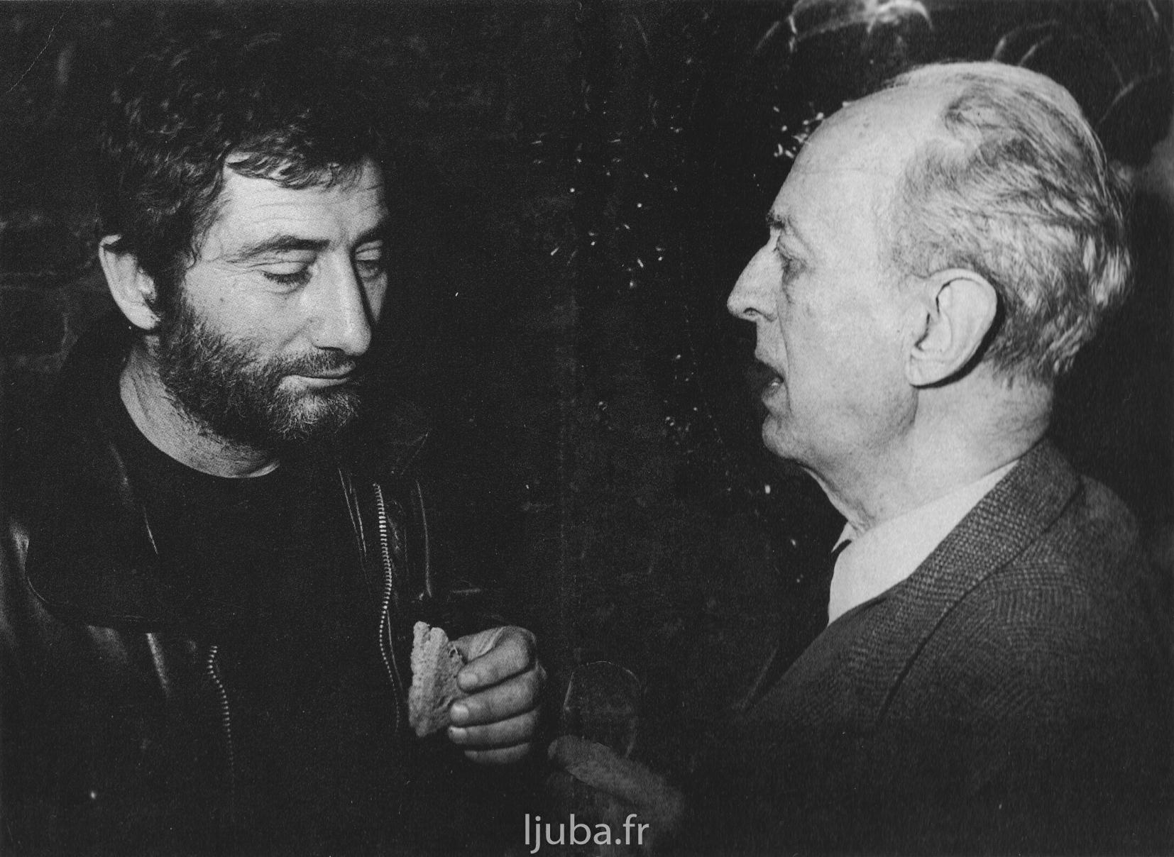 30. 1972., Ljuba i Andre Pjer de Mandijarg_AP_