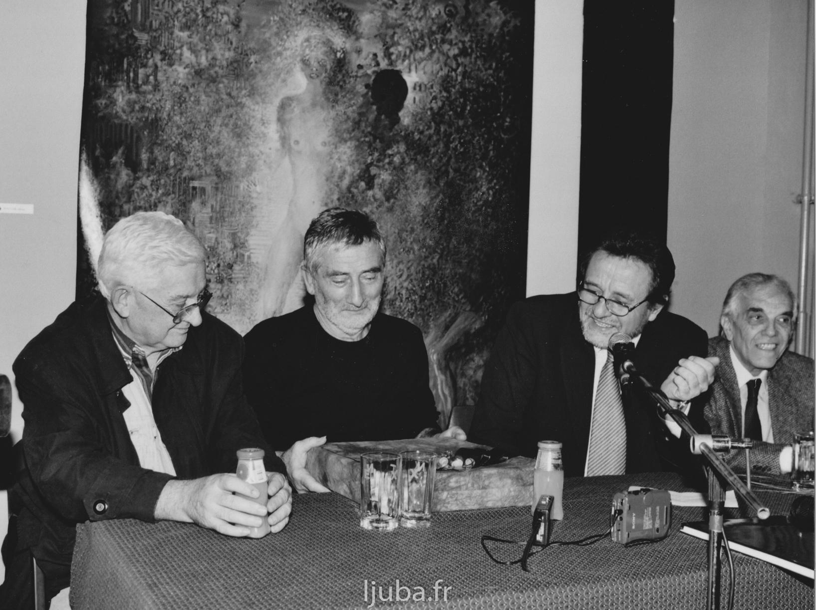 78. 2003., Izložba u Subotici, konferencija za štampu_